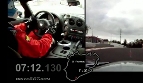 Video Dodge Viper ACR Reigns as Fastest Production Car at the Nürburgring