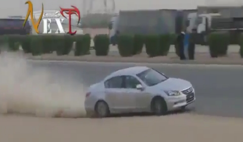 Video Saudis Drifting on Highways