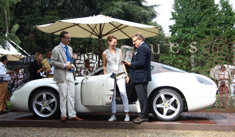 Zagato Wins Two Prices at Uniques Special Ones 2011 02