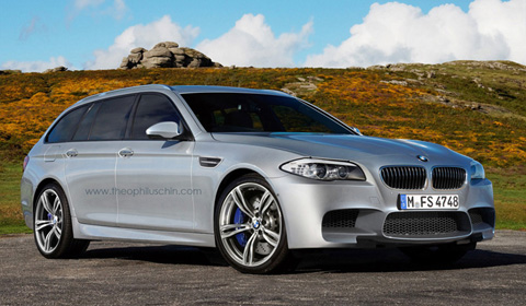 Rendering Bmw M5 F11 Touring Gtspirit