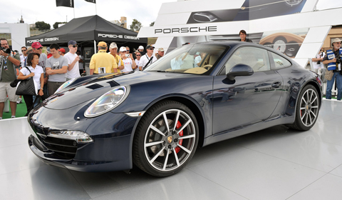 2012 Porsche 911 (991) Makes North American Debut