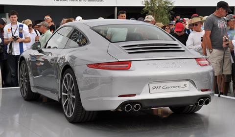 2012 Porsche 911 (991) Makes North American Debut 01