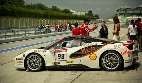 Ferrari 458 Challenge Asian Pacific Series