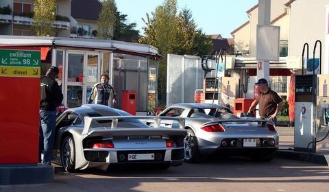 Porsche 911 GT1 & Carrera GT