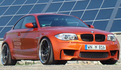 Official: BMW 1 Series M Coupe by TVW Car Design