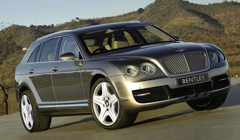 2015 Bentley SUV Rendering