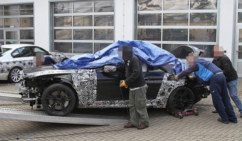 Car Crash: 2012 BMW M6 Prototype at the Nürburgring