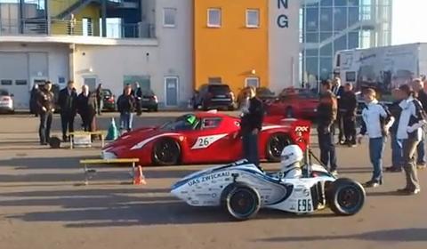 Ferrari FXX vs eGonRS