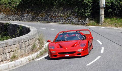 Ferrari F50 Test Drive Outside of Monte-Carlo