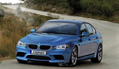 Rendering: 2014 BMW F80 M3 Sedan by Wild-Speed