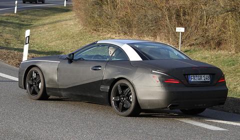 Spyshots: 2013 Mercedes SL-Class