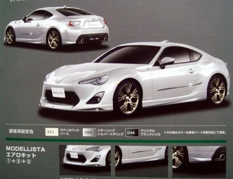 Leaked: Toyota FT-86