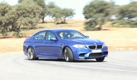Video: Chris Harris Drives the 2012 BMW M5