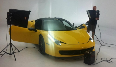 "DMC Plans Release 458 Italia ""Milano"" at SEMA 2011"