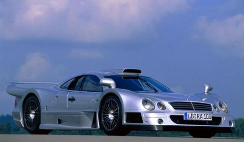 A Star is Born: Mercedes CLK GTR