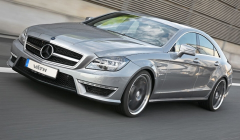 Official mercedes benz cls 63 amg v8 biturbo by v th for Mercedes benz amg v8 biturbo