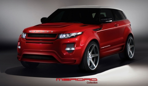 Official Merdad Collection Mer-Nazz Based on Range Rover Evoque