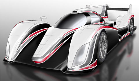Official Toyota Returns to Le Mans 24 Hours with 2012 Hybrid LMP1 Racer