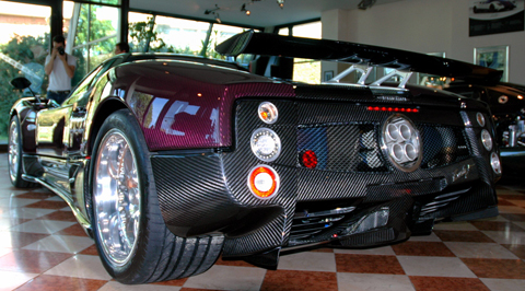 Pagani Builds Last Zonda F Roadster (Number 25 of 25) 01