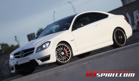 Road Test 2012 Mercedes-Benz C 63 AMG Coupe 01