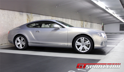Road Test New Bentley Continental GT 01