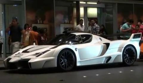 Spotted Gemballa MIG-U1 Ferrari Enzo at Dubai Mall