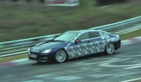 Spyshots BMW 6-Series Gran Coupe at Nurburgring