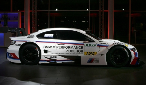 This is the 2012 BMW M3 DTM with M Performance Outfit 01