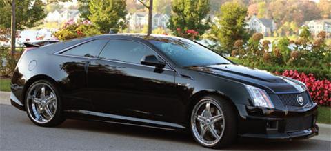 1000hp Harold Martin Cadillac CTS-V Coupe to SEMA