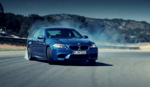 Video Best Road Test Clip of the 2012 BMW F10M M5