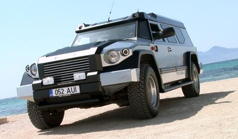 Armoured Dartz Prombron SUV
