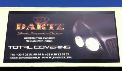 Video Inside the Dartz Garage - World of Custom Wrapping