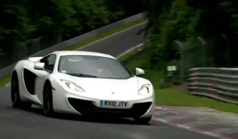 Video McLaren MP4-12C Sets 7:28:00 Nurburgring Lap