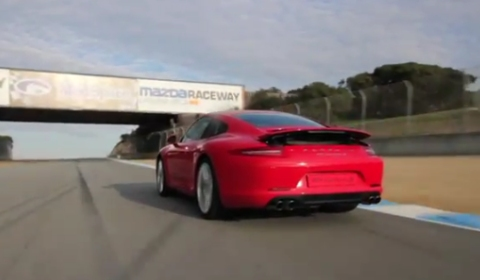 Video Rennsport Reunion IV - The Chase with Cayman R & 991 Carrera S