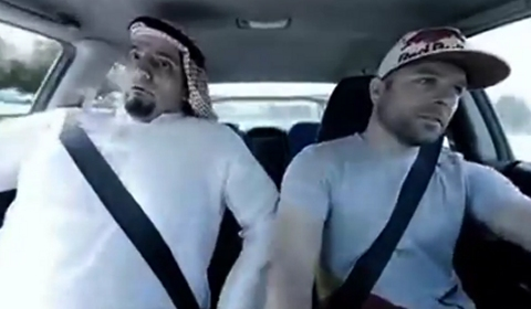 Video Saudi Guy Scared of Drifting