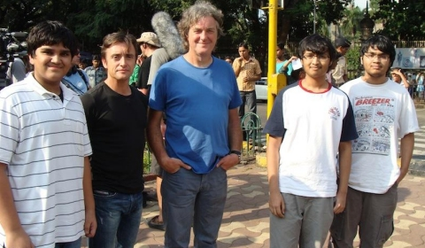 Video Top Gear Shooting Christmas Special in India