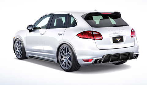 Vorsteiner Program for Porsche Cayenne 958 01