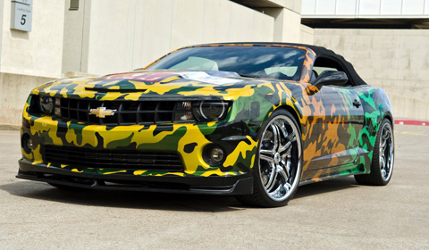 West Coast Customs Chevrolet Camaro Auctioned Off For Charity