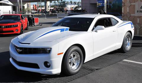 Chevrolet Unveils Camaro COPO Concept at SEMA 2011