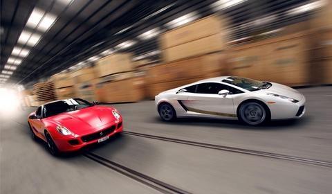 Ferrari 599 GTB & Lamborghini Gallardo