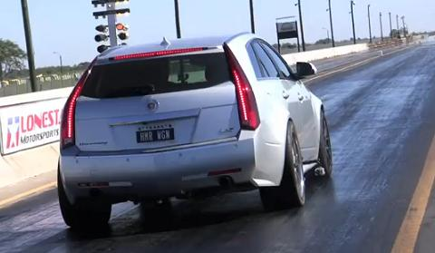 Hennessey Cadillac CTS-V Hammer Wagon
