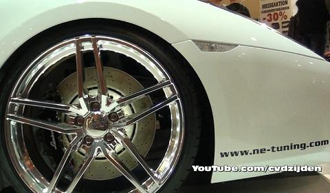 Lamborghini Gallardo Superleggera With LED Brake Calipers