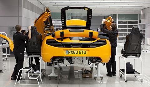 McLaren MP412C Production Restarts