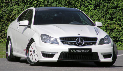 Mercedes-Benz C63 AMG Coupe by Domanig