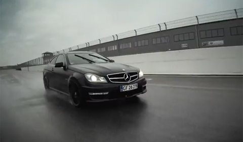 Video: Mercedes C63 AMG Coupé – The Sound of Thunder