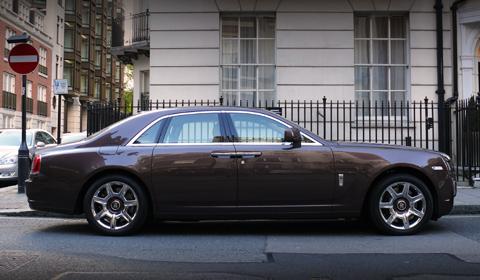 Rolls Royce Ghost Recall