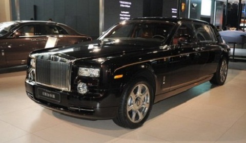 Rolls Royce Phantom China Dragon Debut
