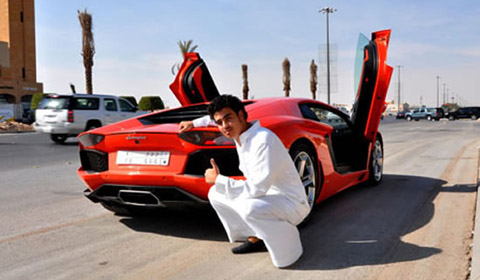 22-Year-Old Saudi Student Adds Lamborghini Aventador To His 30-Strong Supercar Collection