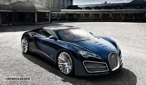 Rendering: Bugatti Veyron Successor