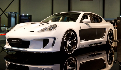 Dubai 2011 Gemballa Mistrale Porsche Panamera
